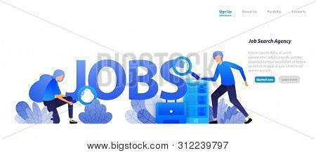 Agents Who Find Jobs Vector Photo Free Trial Bigstock