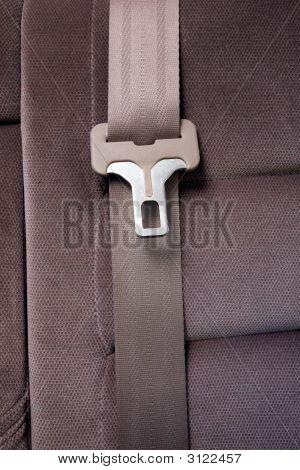 Cinturón de seguridad en el coche