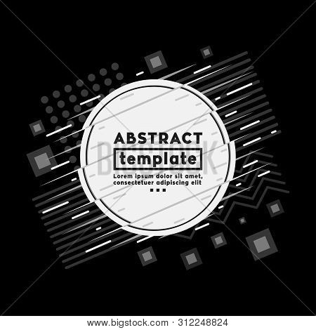 Abstract Background Design Template. Vector And Illustration.