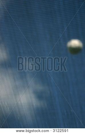 Ball On Trampoline