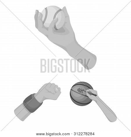 Bitmap Illustration Of Animated And Thumb Sign. Collection Of Animated And Gesture Stock Symbol For