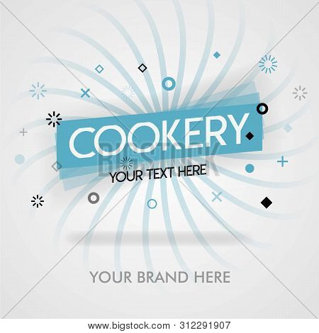 Chinese Cookery Near America. Chinese Cookery Cover Cookbook. Cookery Book Cover. Can Be For Promoti