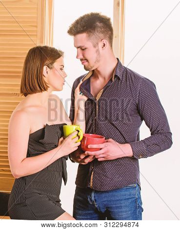 Sexual Attraction. Stimulate Sexual Desire. Flirting And Seduction. Flirting With Coworker. Woman Fl