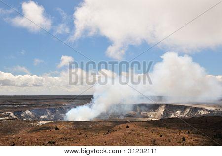 Kilauea Crater, Big Island