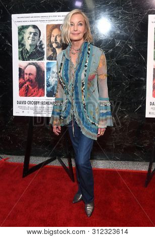 LOS ANGELES - JUL 18:  Bo Derek arrives for the 'David Crosby: Remember My Name' Los Angeles Premiere on July 18, 2019 in Hollywood, CA