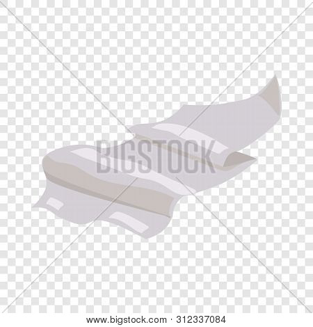 Paper Icon. Cartoon Illustration Of Paper Vector Icon For Web