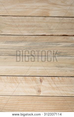 Gray Horizontal Wood Planks. Vertical Frame. Abstract Background.