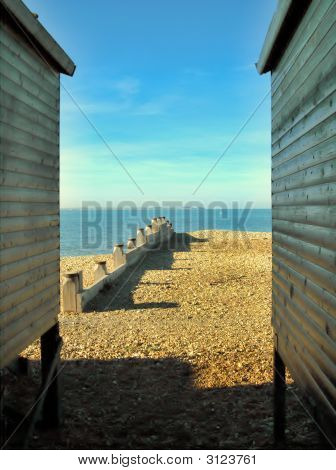 Between Beach Huts