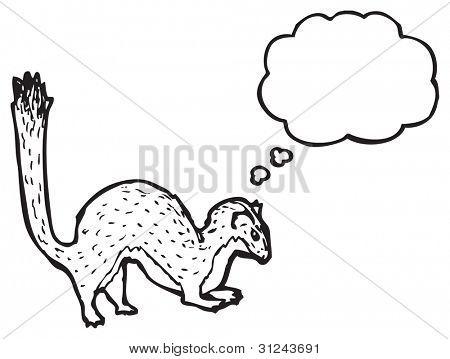 cartoon stoat