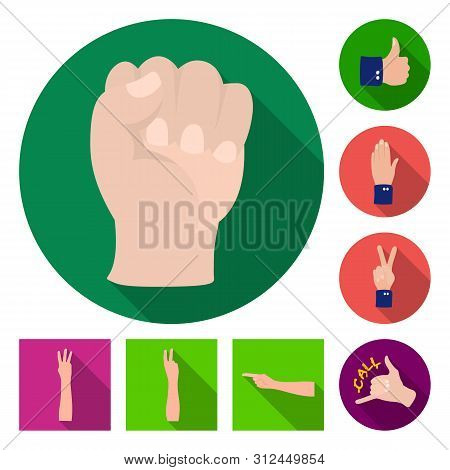 Bitmap Illustration Of Animated And Thumb Sign. Set Of Animated And Gesture Bitmap Icon For Stock.