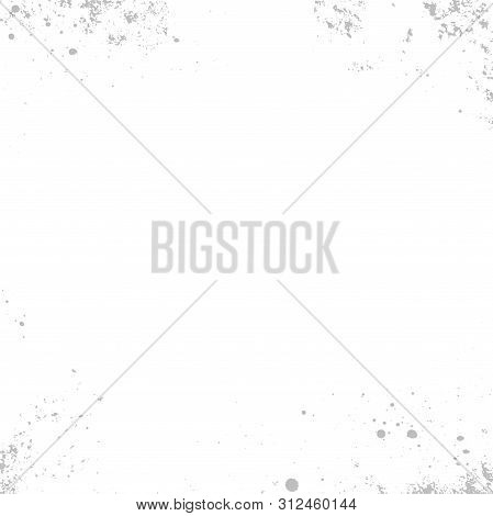 Vector Grunge Texture. Abstract Grainy Background, Old Painted Wall. Overlay Illustration Over Any D