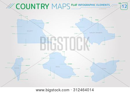 Egypt Syria Israel Vector Photo Free Trial Bigstock