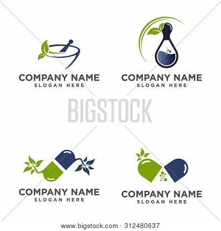 Set Of Medical Logo, Medical Center Logo,heart Logo, Health Logo, Doctor Logo, Medicine Logo, Medica