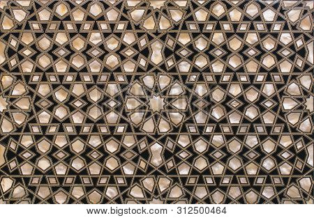 Ottoman Art Example Of Mother Of Pearl Inlays From Istanbul