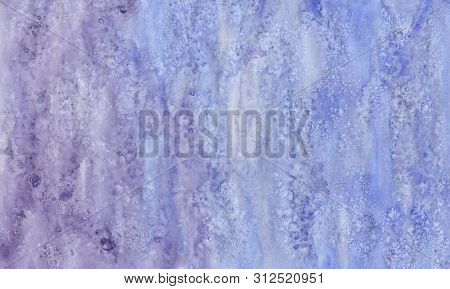 Watercolor Wet Background. Blue .watercolor Abstract Background. Hand Painted Watercolor Background.