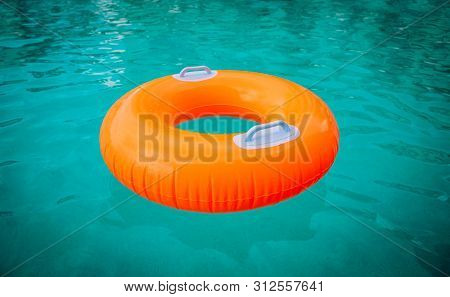 Kids Floatie In The Pool, Water Safety And Summer Fun