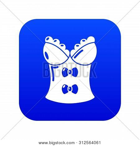 Brassiere Shop Icon. Simple Illustration Of Brassiere Shop Vector Icon For Web