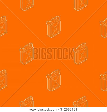 Jerrycan Pattern Vector Orange For Any Web Design Best