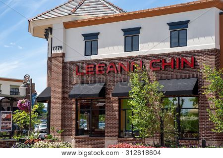 Maple Grove, Minnesota - July 21, 2019: Exterior Of A Leann Chin Chinese Asian Restuarant. This Amer