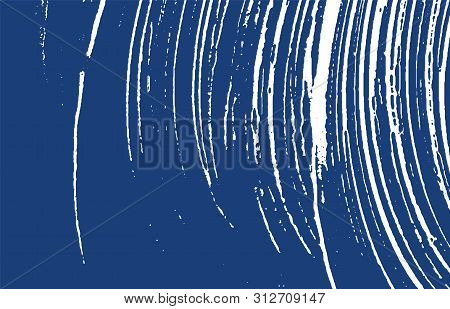 Grunge Texture. Distress Indigo Rough Trace. Enchanting Background. Noise Dirty Grunge Texture. Marv