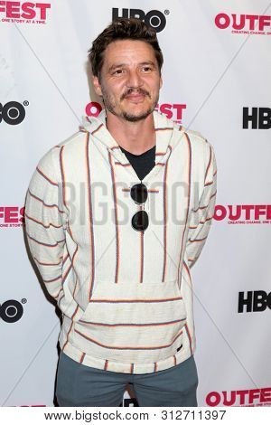 LOS ANGELES - JUL 20:  Pedro Pascal at the 2019 Outfest Los Angeles LGBTQ Film Festival Screening Of