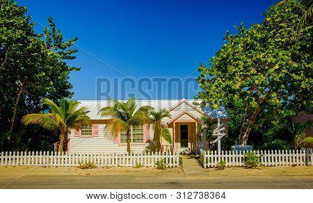 Little Cayman, Cayman Islands, Nov 2018, Beauty Salon In A Caribbean-style House By Guy Banks Road