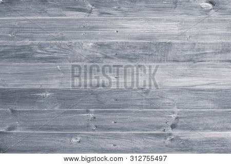 Gray Wooden Background. Grey Wood Boards, Messy Fence, Planks. Weathered, Vintage Surface, Pattern.
