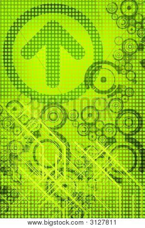 Green Tech Background