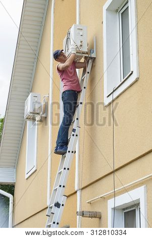 Installation Of The Outdoor Unit Air Conditioner