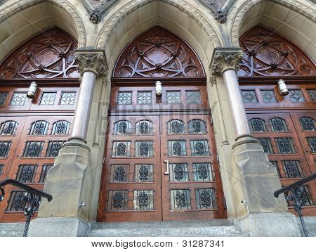 Three Church Doors
