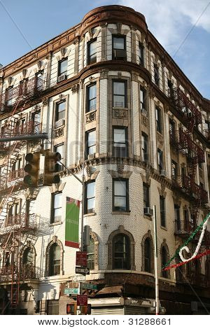 Beautiful building in Little Italy