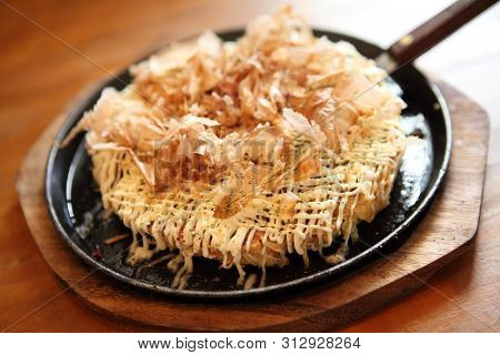 Japanese Food Okonomiyaki , Japanese Pizza
