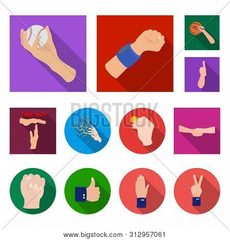 Bitmap Illustration Of Animated And Thumb Icon. Set Of Animated And Gesture Bitmap Icon For Stock.