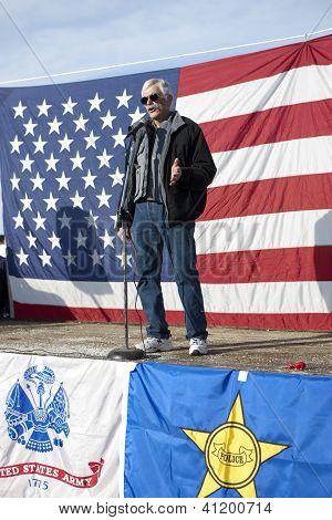 At The 2Nd Amendment Rally.