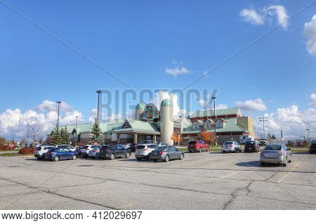 Elora, Ontario/canada - October 15: The Elements Casino Grand River On [october 15, 2020] In [elora]