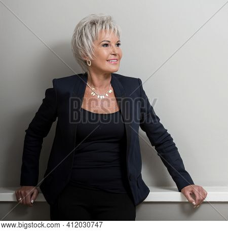 Editorial Portrait Of Dawn Nathan-jones, Ceo And Shark Tank Investor