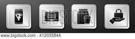 Set Food Ordering Pizza, Online Ordering Burger Delivery, Online Ordering And Delivery And Online Or