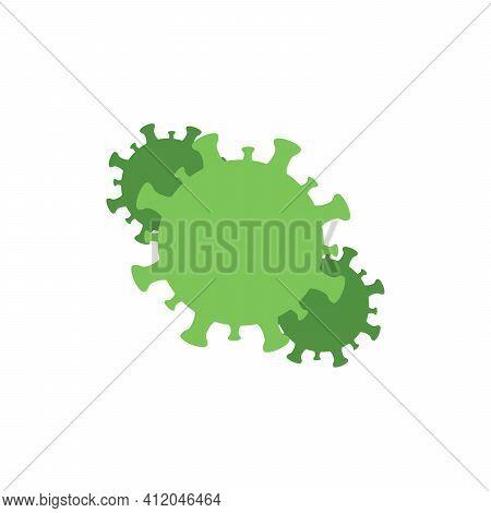 Virus Corona Vectors. Corona Virus. Corona Virus Infection.white Background. Vector Illustration