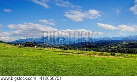 Tatras mountains ecological land in Europe