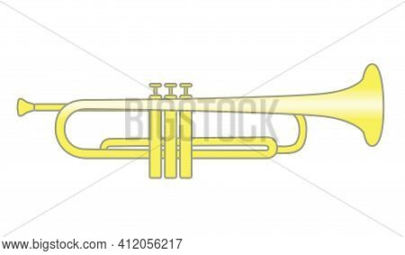 Trumpet Brass Instrument Used In Classical And Jazz Music