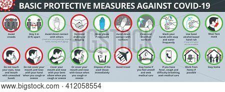 Basic Protective Measures Against Coronavirus Disease Covid-19