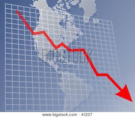 Chart Americas Down