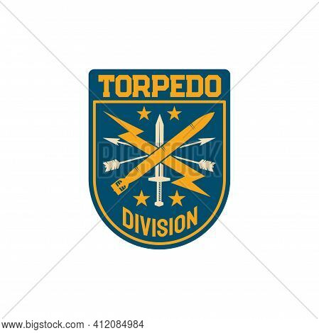Torpedo Division Gunnery Organization Of British Admiralty Naval Staff Chevron Patch On Military Uni