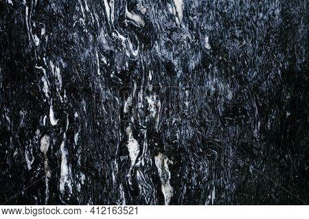 Black Marble Natural Pattern For Background, Abstract Natural Marble Black And White, Black Marble S