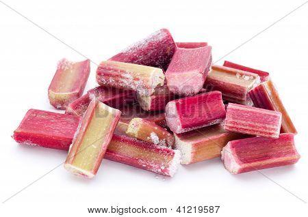 Frozen Rhubarb