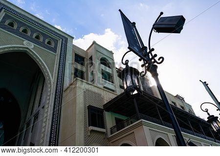 Souk Al Bahar In Dubai Downtown, United Arab Emirates