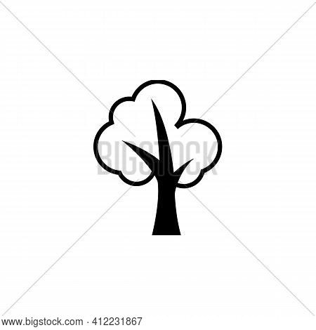 Tree Leave Icon Isolated On White Background From Nature Collection. Tree Leave Icon Trendy And Mode