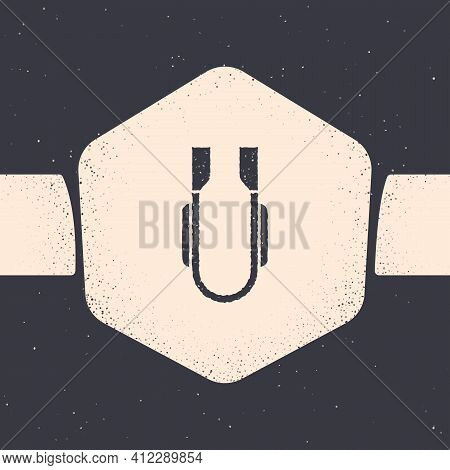 Pop Art Meat Tongs Icon Isolated On Color Background. Bbq Tongs Sign. Barbecue And Grill Tool. Vecto