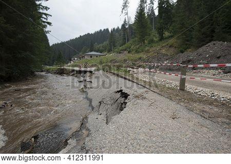 Soil Erosion And Landslide After Heavy Rainfalls