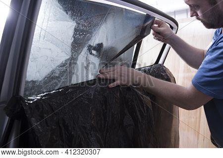 Tinting Of Car Windows.window Film For Car.